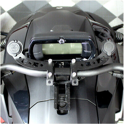 12V Cell Phone Docking Station with Dual USB Charge Ports for the Can-Am Ryker