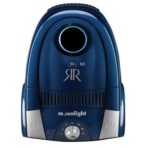 Moonlight Canister Vacuum 11 Amp 18.5' Cord Hepa Filter 2 Year Warranty Midnight Blue Air Canister