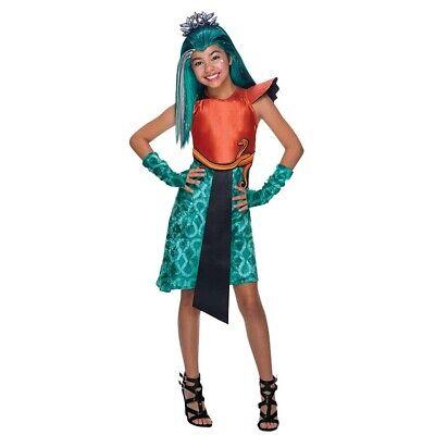 Kinder CLEOPATRA KOSTÜM Karneval Monster High Nefera de - Monster High Kostüme Nefera De Nile