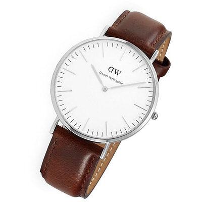 Daniel Wellington Men's 0207DW St. Mawes Analog Display Quartz Brown Watch