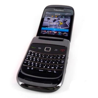 Refurbished Blackberry - Black-Blackberry Style 9670 Unlocked CDMA 2000 Wi-Fi Bluetooth GPS 3G Cellphone