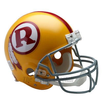 - WASHINGTON REDSKINS 70-71 THROWBACK NFL AUTHENTIC FOOTBALL HELMET