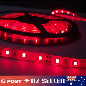 Waterproof-Flexible-12V-5M-3528-300-SMD-Red-LED-Strip-Light-DRL-Car-Boat-Camping