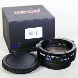 Kipon-Baveyes-0-7x-Adattatore-di-messa-a-fuoco-automatica-Canon-EOS-Obiettivo-per-Micro-EF-4-3-MFT