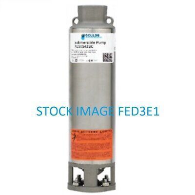 Goulds 18gs07 34hp Submersible Water Pump Wet End Only 18gal