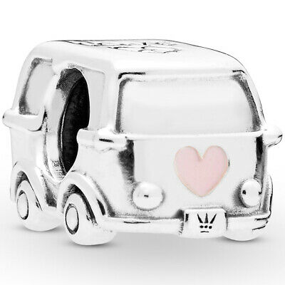 PANDORA Charm Element 797871 EN160 Camper Bus Bully Silber
