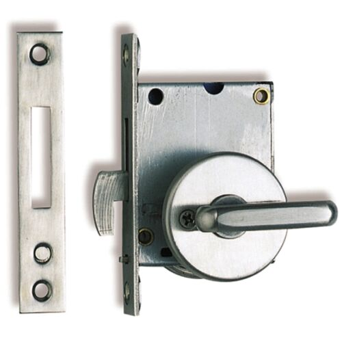 SUGATSUNE SLIDING DOOR LATCH w LARGE LEVER FOR EASY OPERATION NON HANDED SUHC30L