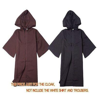 Baby Jedi Robe (Kid Unisex STAR WARS Sith/ Jedi Darth Vader Robe Hooded Cloak Cape Child)