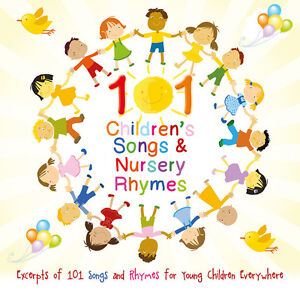 101-Young-Childrens-Nursery-Rhymes-Songs-CD-Brand-NEW