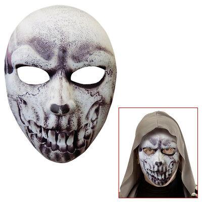 TOTENKOPF MASKE # Halloween Skelett Sensenmann Horror Grusel - Skelett Kopf Kostüm