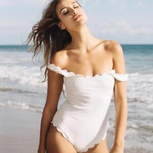 One Piece off the Shoulder Swim Suit       FREE shipping on all orders