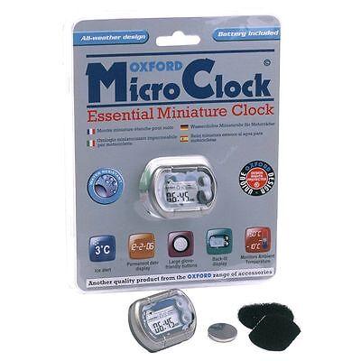 Orologio Oxford Micro Clock Digitale Miniaturizzato Impermeabile per Moto