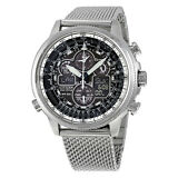 Citizen Navihawk UTC Eco-Drive Chronograph Mens Watch JY8030-83E