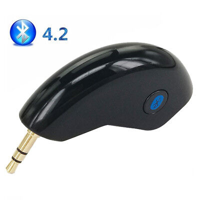 Wireless Bluetooth4.2 Adapter Car Home 3.5mm AUX Music Streaming Audio Receiver