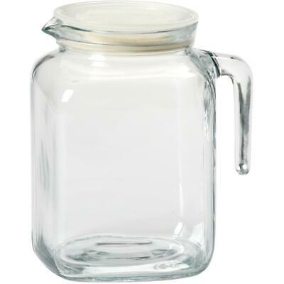 2.3L Glass Fridge Door Beverage Pitcher