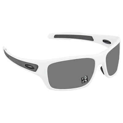 Oakley TURBINE POLARIZED Sunglasses OO9263-55 Polished White W/ PRIZM Black (Oakley Sunglasses Lenses Polarized)