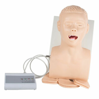Intubation Manikin Study Teaching Model Airway Management Trainer Pvc 110v