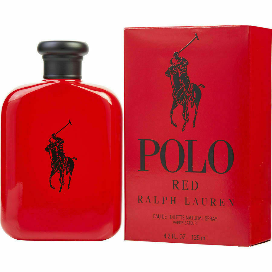 Ralph Lauren Polo Red 4.2 oz Eau de Toilette Spray