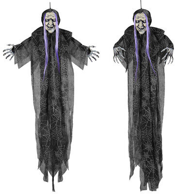 10cm) Halloween Grusel Figur Fest Party Raum Dekoration 05819 (Halloween Hexen Dekoration)
