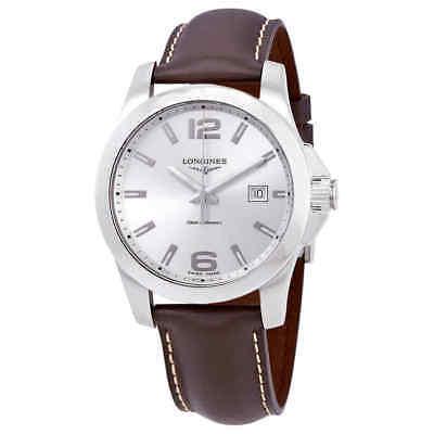 Longines Conquest Silver Dial Men's Watch L3.759.4.76.5
