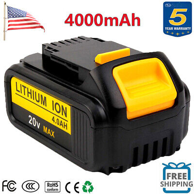 NEW For Dewalt 20V 20 Volt DCB205-2 DCB200 DCB206 4.0Ah XR Lithium-Ion Battery