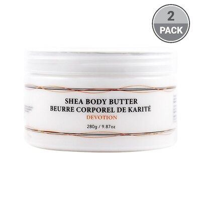 (Vivo Per Lei Shea Body Butter, Gives You Baby Soft Skin, Devotion (2 Pack))