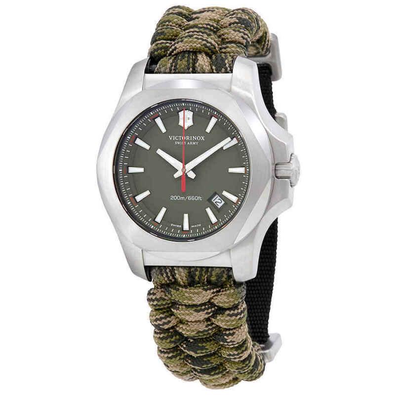 Victorinox-I.N.O.X-Olive-Dial-Swiss-Quartz-Men-Watch-241727