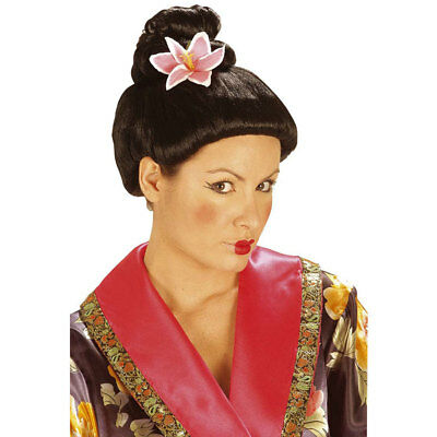 GEISHA PERÜCKE Karneval Japanerin Chinesin Asiatin China Asien Kostüm Party 6144