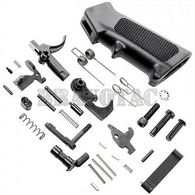 Govt Contract Lower Parts Kit Mil Spec Premium Quality Upgrade W  Grip 5 56 223
