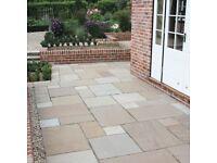 Paving Slabs - Sunset Blend Sandstone tiles