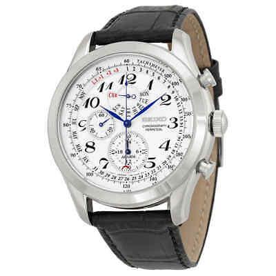 - Seiko Neo Classic Alarm Perpetual Chronograph Men's Watch SPC131