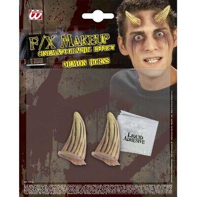 �RNER Halloween Teufel Zombie Monster Gag Kostüm Make-Up 4173 (Halloween Hörner Make-up)