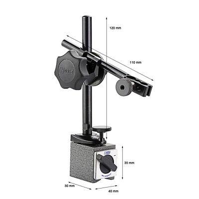 Noga Magnetic Holding Base Dial Indicator Holder Length Adjusting Ph3100