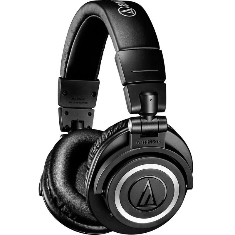 Audio Technica ATH-M50XBT2 Closed-Back Headphones w/ Wireless Bluetooth, New!