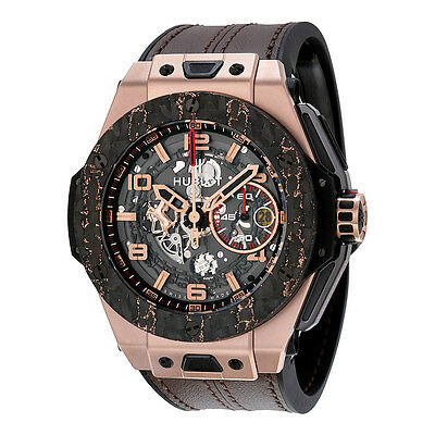 Hublot Big Bang Ferrari King Gold Carbon Limited Edition Mens Watch