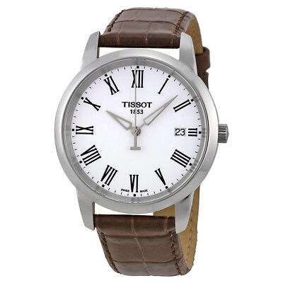 Tissot T-Classic Dream White Dial Mens Watch T033.410.16.013.00