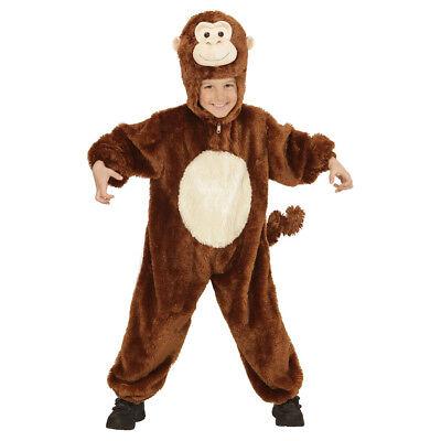AFFEN PLÜSCHKOSTÜM # Karneval Kinder Affenkostüm Jungen Mädchen Kostüm 116 98101 (Kinder Affe Kostüme)