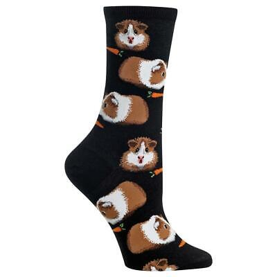 Guinea Pigs Hot Socks Women's Crew Sock New Novelty Colorful Pig Fashion