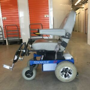 POWER WHEELCHAIR Hoveround Teknique GT/ Mobility Scooter, USA