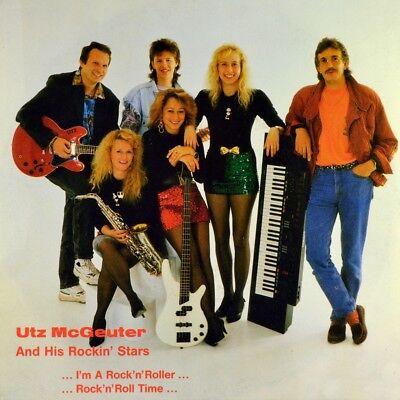 "7"" UTZ McGEUTER & HIS ROCKIN' STARS I'm A Rock 'n' Roller GOLDHUT 1991 NEUWERTIG"