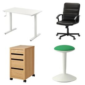 Complete brand new Ikea office for 6 people (must be gone by Mon 26th March)