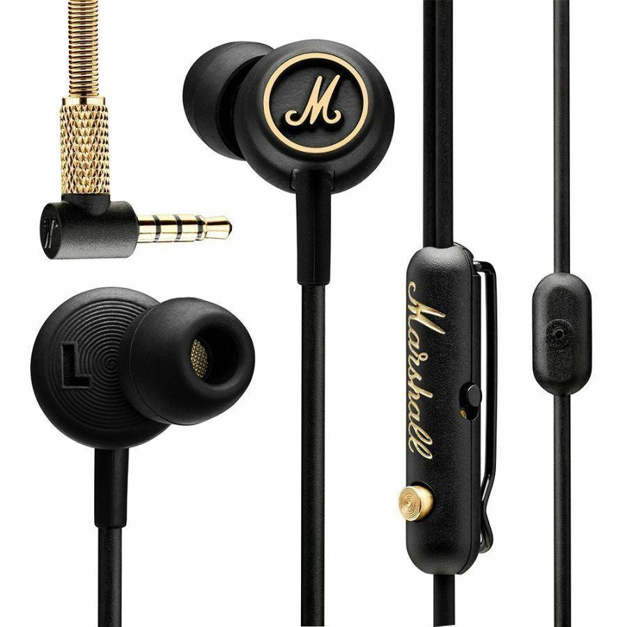 Headphones Marshall Mode EQ Original Earbuds Earphones Stereo Remote Mic