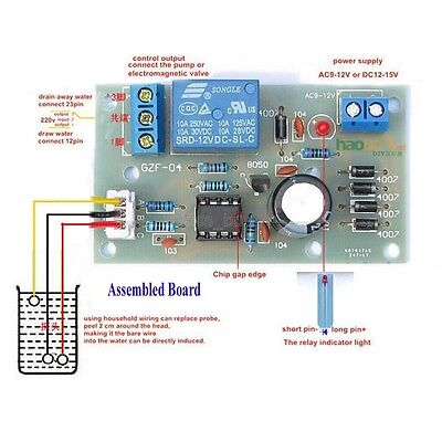 Liquid Level Controller Sensor Module Water Level Detection Sensor on