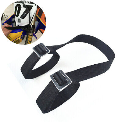 Universal Motorcycle Rescue Strap Pull Belt Tow Rope Accessories Dirt Pit Bike
