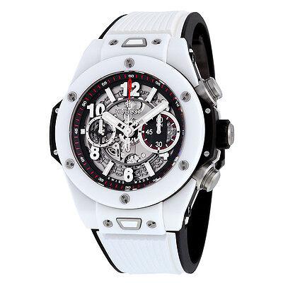 Hublot Big Bang UNICO Mat Black Dial Ceramic Chronograph Mens Watch