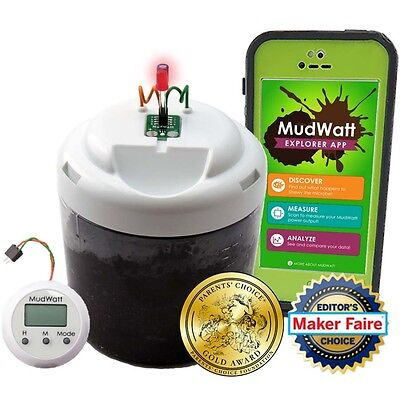 Mudwatt Classic Stem Kit    Clean Energy From Mud     Build A Living Fuel Cell