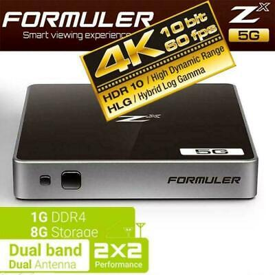 FORMULER ZX 5G DUALBAND Built In Wifi ANDROID 7 4K Bluetooth USB 3.0 SMART TV