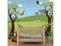 Jungle safari stencil kit (paint not included)