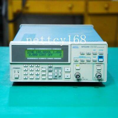 1035-tektronix 16mhz Afg310 Function Generator