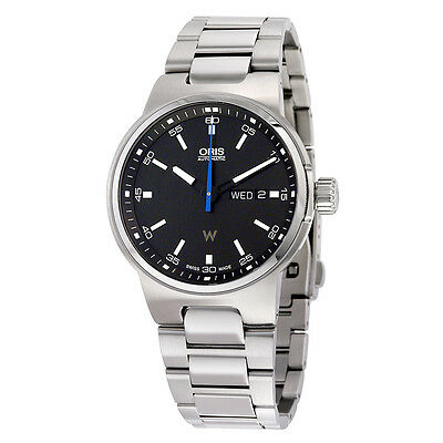 Oris Williams F1 Team Day Date Black Dial Automatic Mens Watch 01 735 7716
